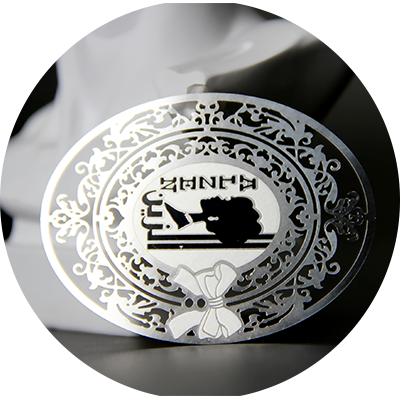 Stainless Steel Etching Metal Gift Tags Manufacturers-Greatnameplates.com