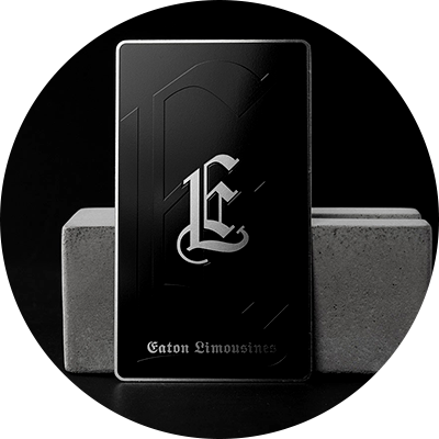 Hot Sell Custom Laser Engraved Black Metal Business Cards-Greatnameplates.com
