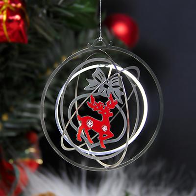 Custom Stainless Steel Laser Cut Engraved Metal Ornaments-Greatnameplates.com
