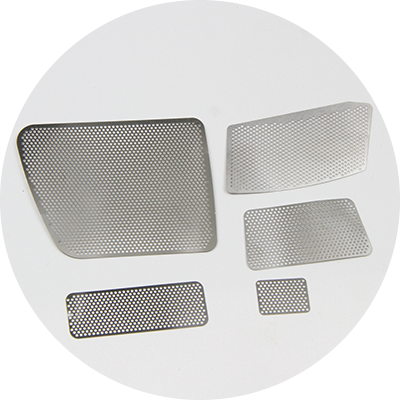 Stainless Steel Precision Photo Chemical Etching Irregular Filter Mesh-Greatnameplates.com