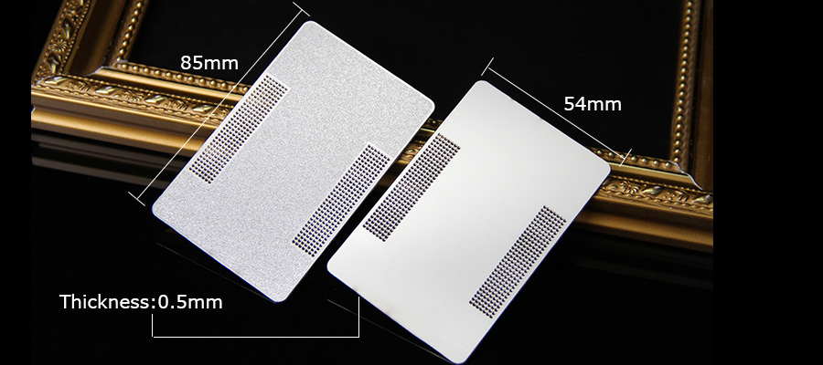 Customized Stainless Steel Laser Engraved Metal Business Cards Supplier-Greatnameplates.com