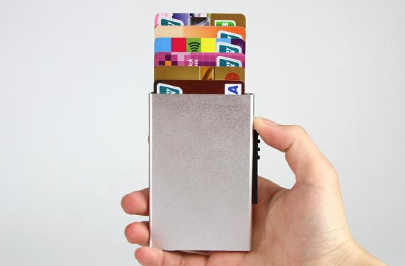 Hot Selling Metal Aluminum Rfid Blocking Metal Wallet For Business-Greatnameplates.com