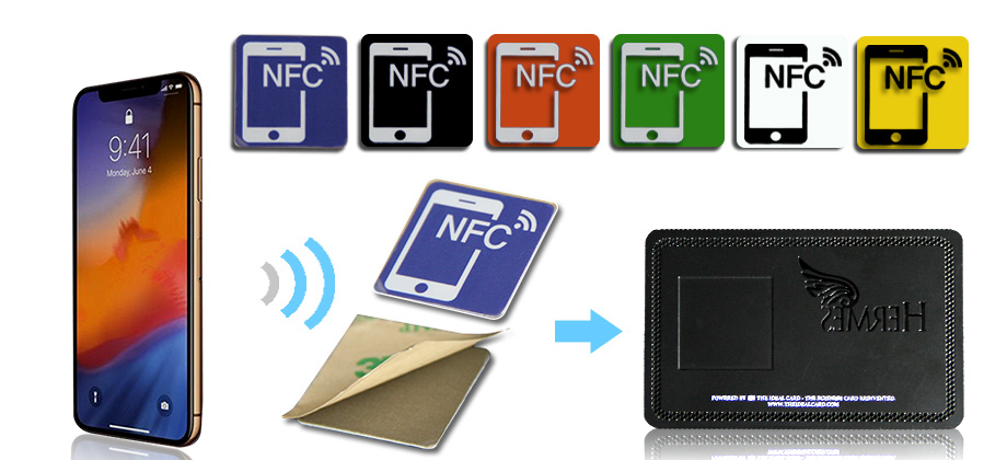 Contactless ID IC Smart RFID Chip Metal NFC Business Cards-Greatnameplates.com