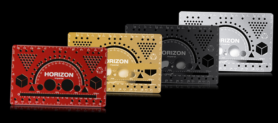 New Type of Portable MetalRulerCard for Digital and Physical Design-Greatnameplates.com