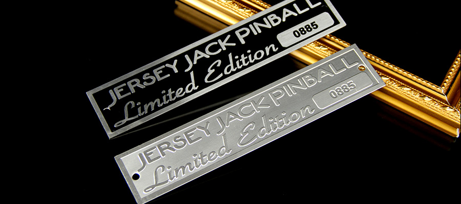 Factory Price Etching Stainless Steel Nameplates for Equipment and Machinery-Greatnameplates.com