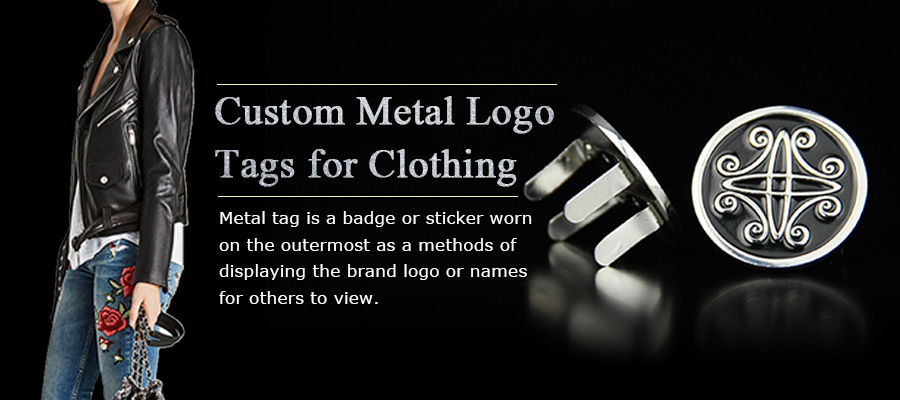 Personalize Custom Metal Logo Tags for Clothing-Greatnameplates.com